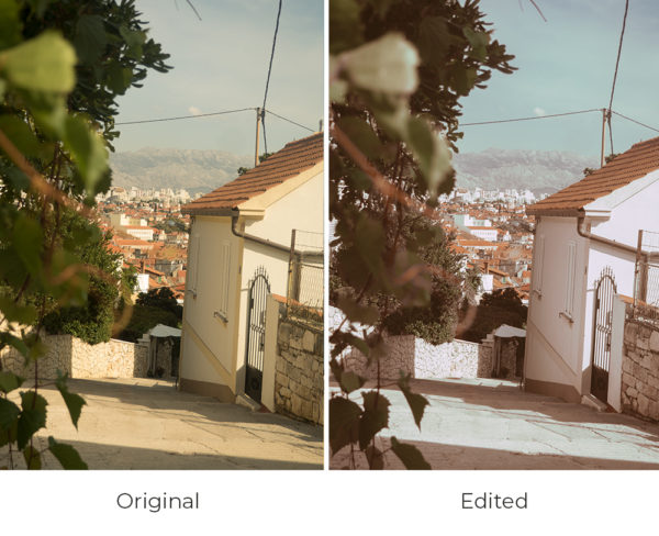 bohemian filter before and after