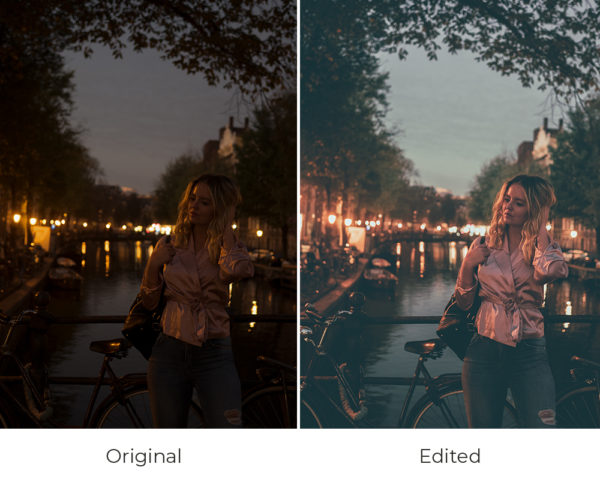 Pink shades Amsterdam