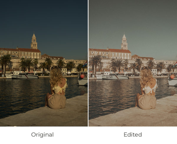 Split before and after edited
